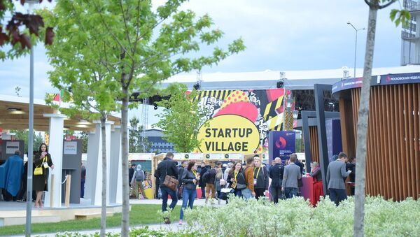 Startup Village 2018 à Skolkovo - Sputnik France