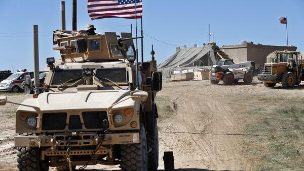 Véhicule militaire US à Manbij en Syrie - Sputnik France