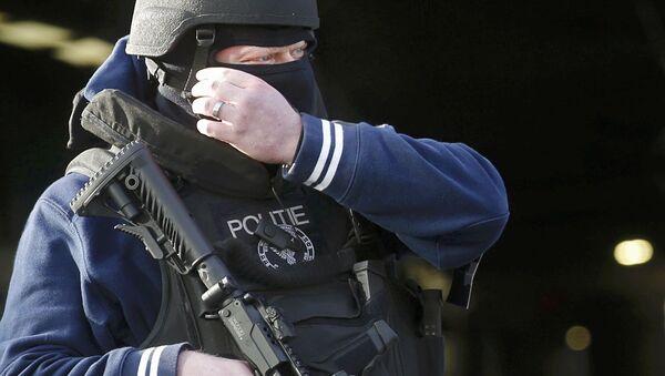 Un policier belge - Sputnik France