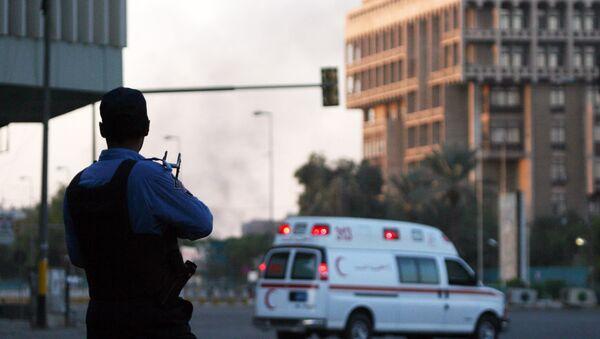 Un policier irakien à Bagdad - Sputnik France