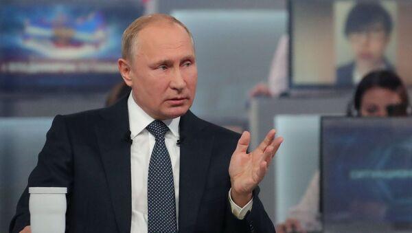 En «Ligne directe» avec le Président - Sputnik France