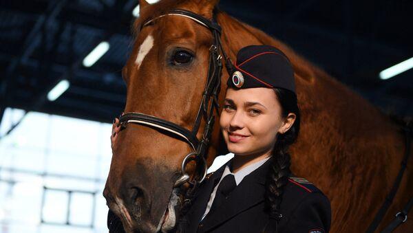 Policière russe Tatiana Zima - Sputnik France