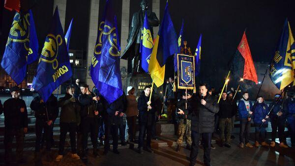Марш националистов на Украине - Sputnik France