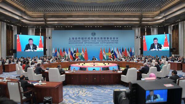 Президент РФ В. Путин на саммите ШОС в Китае. День второй - Sputnik France
