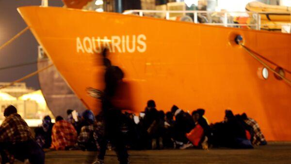 L'Aquarius - Sputnik France