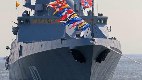 La frégate russe Admiral Gorchkov - Sputnik France