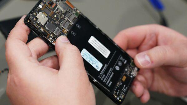 Smartphone (image d'illustration) - Sputnik France