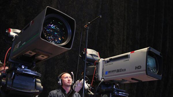Caméras de télévision (image d'illustration) - Sputnik France