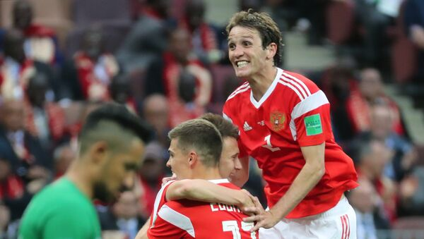 La Russie remporte le premier match du Mondial 2018 - Sputnik France