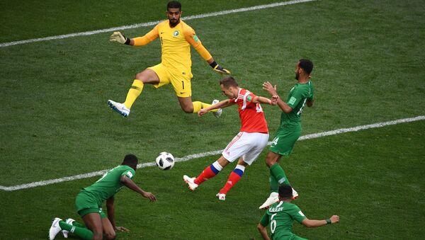 Russie-Arabie saoudite 5:0 - Sputnik France