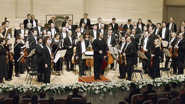 L'orchestre Mariinski dirigé par Valery Guerguiev - Sputnik France