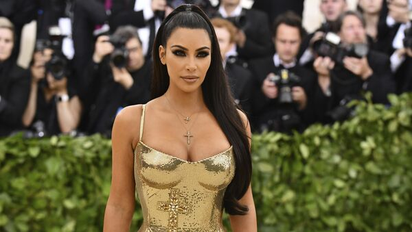 Kim Kardashian, celebridad estadounidense - Sputnik France