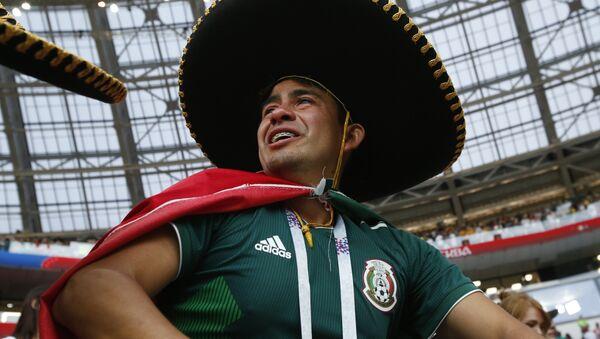 Un fan mexicain - Sputnik France