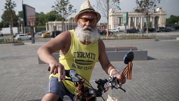 Акция На работу на велосипеде - Sputnik France