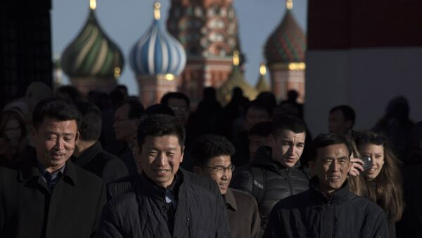 Des touristes chinois à Moscou - Sputnik France