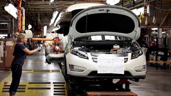 Une usine de General Motors à Detroit - Sputnik France