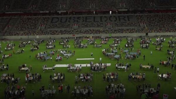 Le record du monde de tennis de table a été établit en Allemagne! - Sputnik France