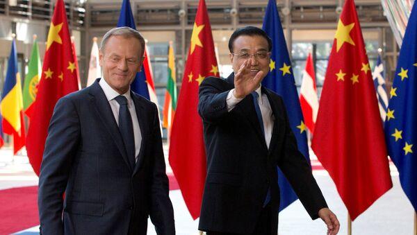 Le protectionnisme US pousse l'UE vers le partenariat avec la Chine - Sputnik France