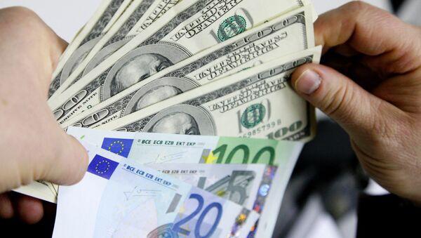 Dollar vs euro - Sputnik France