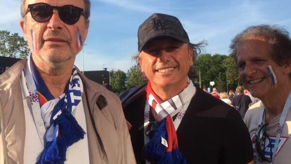 Les supporteurs s'expriment après le match Danemark-France qui a eu lieu à Moscou - Sputnik France