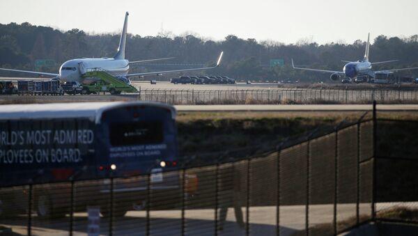 A l'aéroport international Hartsfield-Jackson, Atlanta - Sputnik France