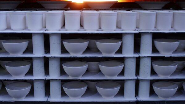 La production de la vaisselle - Sputnik France