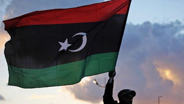 Bandera de Libia - Sputnik France