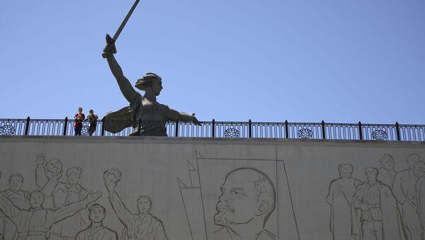Statue de la Mère-Patrie à Volgograd - Sputnik France