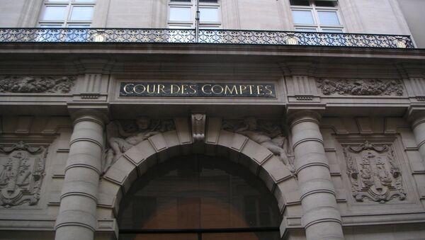 Entrée principale de la rue Cambon à Paris. - Sputnik France
