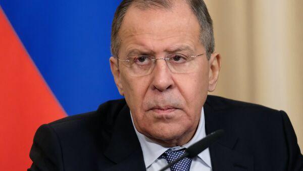 Serguéi Lavrov, el ministro ruso de Asuntos Exteriores - Sputnik France