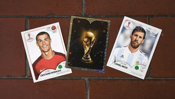 Cristiano Ronaldo et Lionel Messi  - Sputnik France