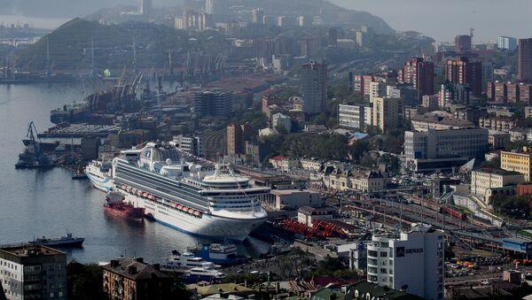 Puerto ruso de Vladivostok - Sputnik France