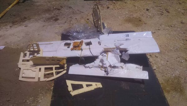 Des drones abattus près de la base de Hmeimim (image d'illustration) - Sputnik France
