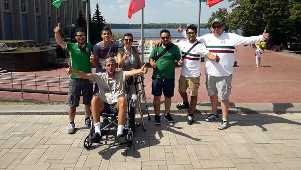 Carlos Osorio, de la ville mexicaine de Puebla, en fauteuil roulant prouve que l'impossible est possible - Sputnik France