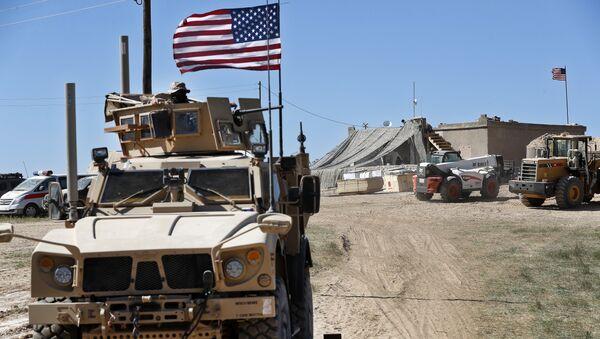Des militaires américains en Syrie (image d'illustration) - Sputnik France