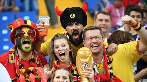 supporters belges - Sputnik France
