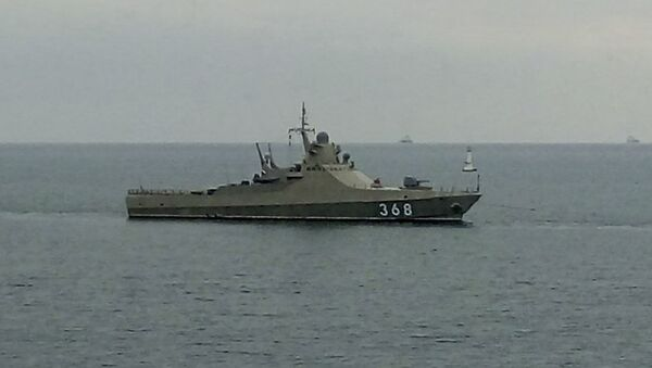 Головной патрульный корабль проекта 22160 Василий Быков - Sputnik France