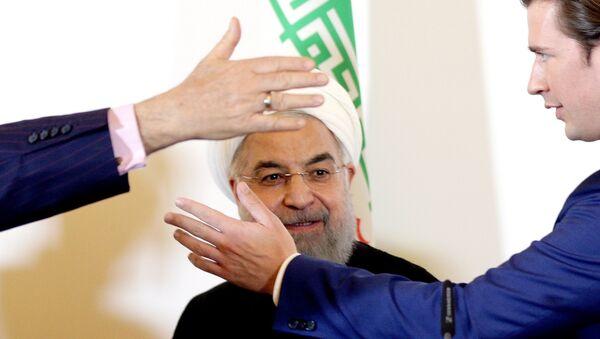 Hassan Rouhani et Sebastian Kurz - Sputnik France