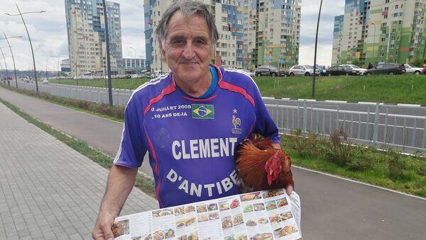Clément d'Antibes, fidèle supporter de l'équipe de France de football - Sputnik France