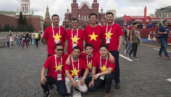 Supporters vietnamiens à Moscou - Sputnik France