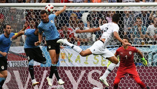 Coupe du monde 2018 Uruguay - France - Sputnik France