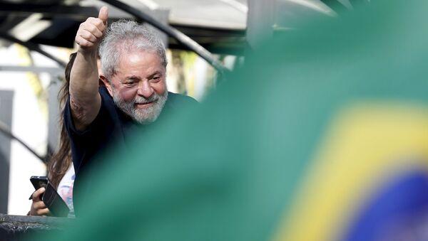 Luiz Inácio Lula da Silva, expresidente de Brasil - Sputnik France
