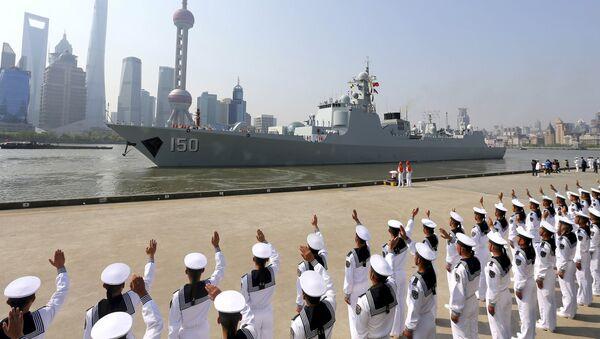 Navire de guerre chinois - Sputnik France