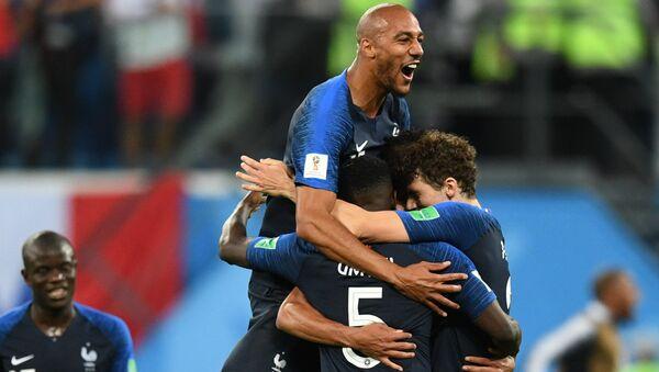 La France remporte la demie-finale face à la Belgique - Sputnik France