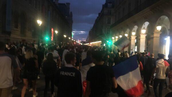 Paris en liesse - Sputnik France