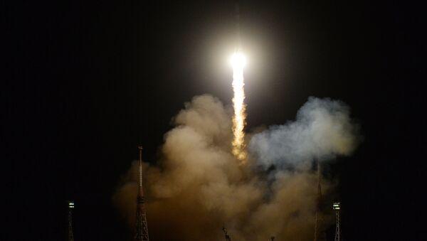 Запуск РН «Союз-2.1А» С ТГК «Прогресс МС-09» с космодрома Байконур - Sputnik France