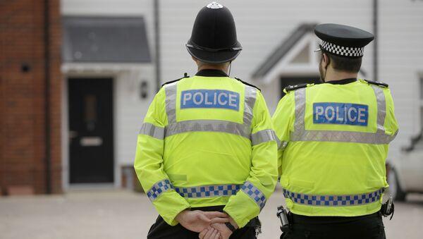 La police britannique (image d'illustration) - Sputnik France