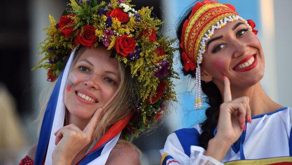 La FIFA s'oppose à l'abus de gros plans de belles femmes dans les tribunes - Sputnik France