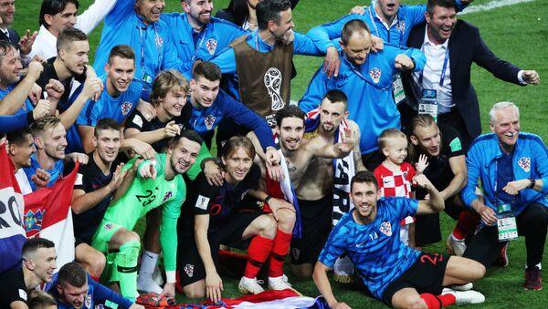 La Croatie en finale de la Coupe du Monde, résultat jamais atteint en ex-Yougoslavie - Sputnik France