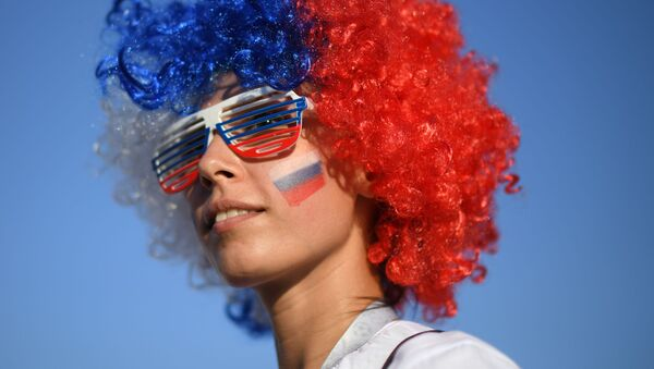 Most Beautiful Female Fans That Made World Cup Shine Even Brighter  - Sputnik France
